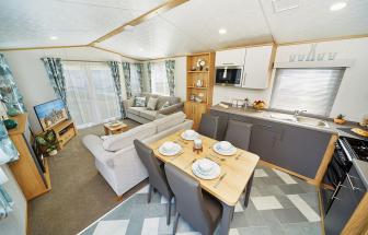 3 bed lodge for sale in Hoburne Doublebois, Liskeard, Cornwall PL14
