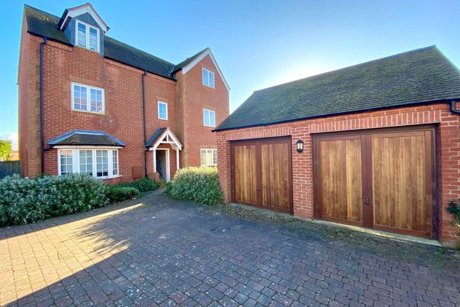 Thumbnail Detached house for sale in Oxenhope Way, Broughton, Milton Keynes