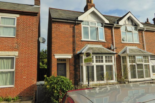 Thumbnail End terrace house to rent in Carr Avenue, Leiston