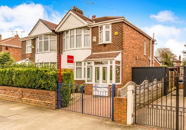 Thumbnail Semi-detached house for sale in Hurstville Road, Chorlton, Manchester, Greater Manchester