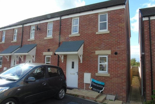 Thumbnail End terrace house to rent in Dan Y Cwarre, Carway, Kidwelly