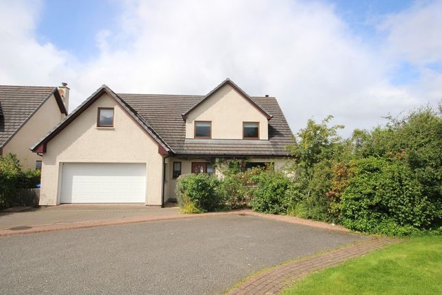 Thumbnail Detached house for sale in 12 Woodside Gardens, Westhill, Inverness