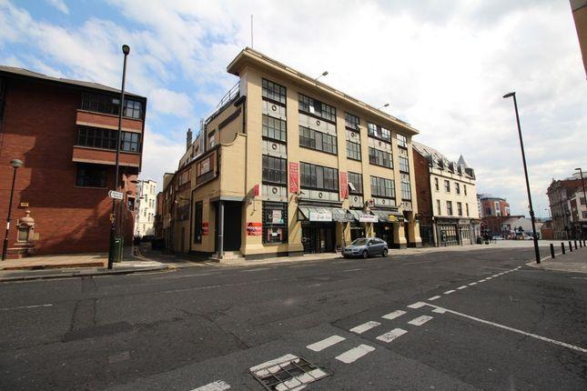 Thumbnail Studio to rent in Waterloo Street, Newcastle Upon Tyne