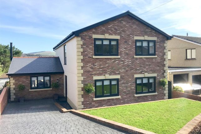 Thumbnail Detached house for sale in Bryncatwg, Cadoxton, Neath