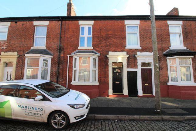 3 bed terraced house to rent in Fazackerley Street, Ashton-On-Ribble, Preston