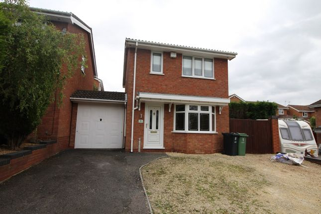 Thumbnail Detached house for sale in Wexford Close, Milking Bank, Dudley, West Midlands