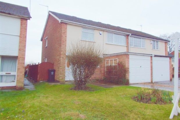 Thumbnail Semi-detached house to rent in Whitley Close, Leicester