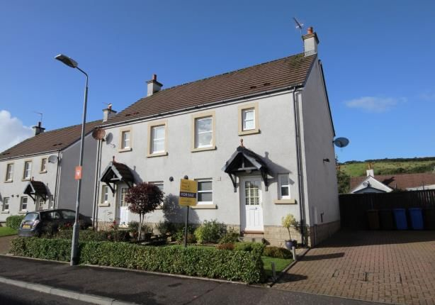 Thumbnail Semi-detached house for sale in Noddleburn Place, Largs, North Ayrshire