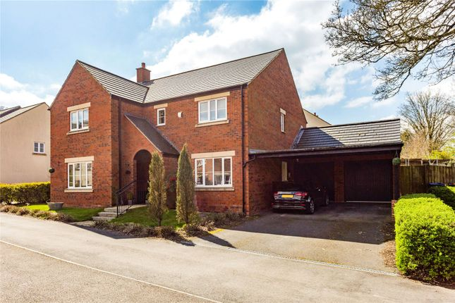 Thumbnail Detached house for sale in White Horse Road, Marlborough, Wiltshire