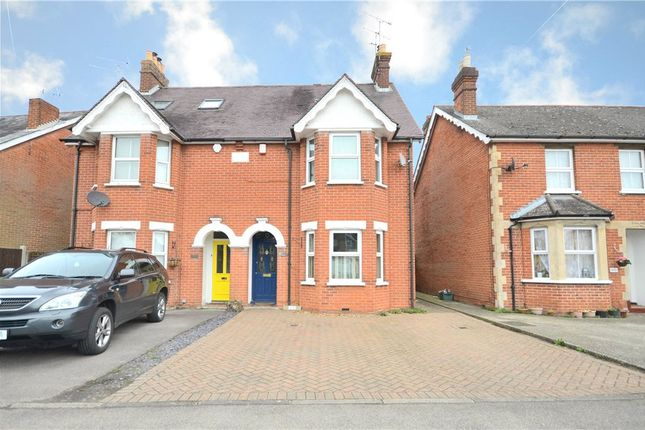 Thumbnail Semi-detached house for sale in Yorktown Road, College Town, Sandhurst