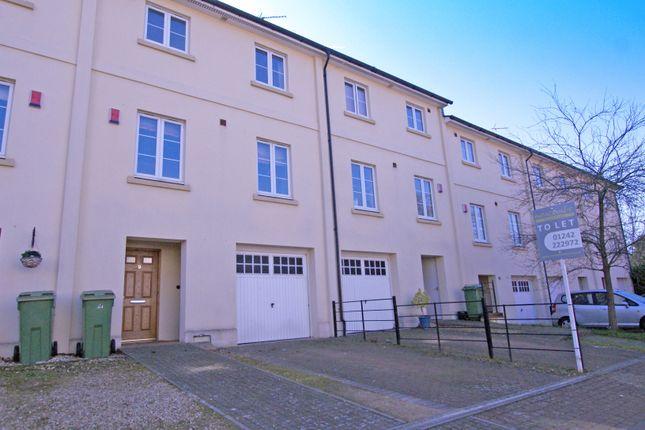 Thumbnail Town house to rent in Sarah Siddons Walk, Cheltenham