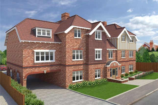 Thumbnail Flat for sale in St Margarets Court, Off Cross Way, Harpenden, Hertfordshire