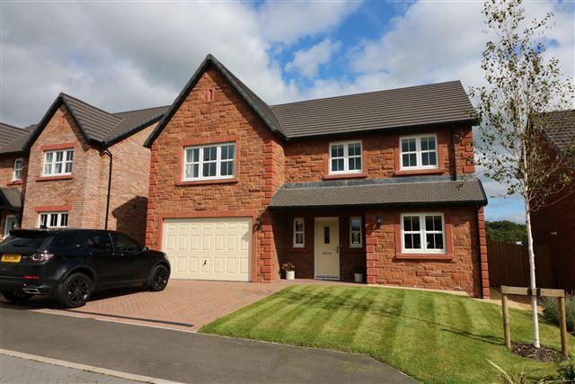 Thumbnail Detached house for sale in Croft Close, Cumwhinton, Carlisle, Cumbria