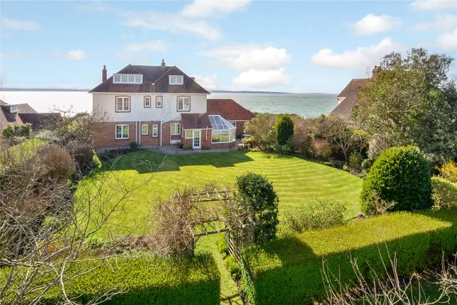Thumbnail Detached house for sale in Cliff Road, Hill Head, Hampshire