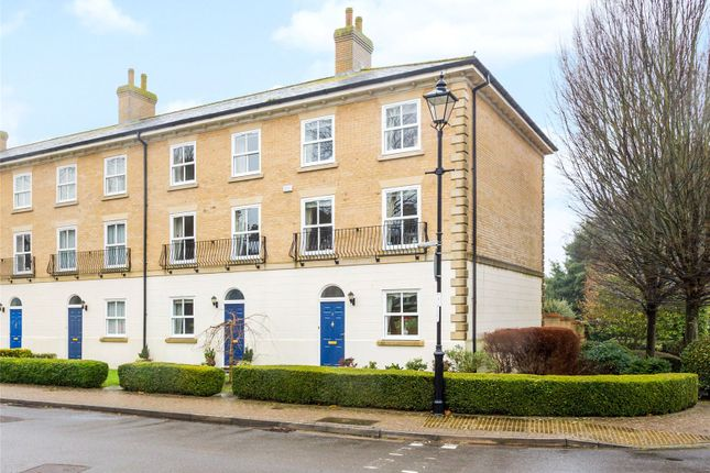 Thumbnail End terrace house for sale in King George Gardens, Chichester, West Sussex