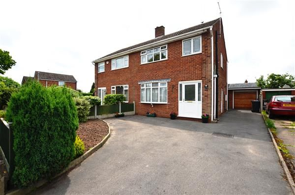 Thumbnail Semi-detached house for sale in Northwood Lane, Clayton, Newcastle