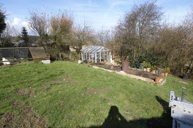 Side Garden of Wells Mount, Upper Cumberworth, Huddersfield HD8