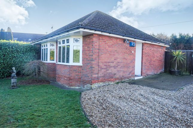 Thumbnail Detached bungalow for sale in Arundel Road, Totton Southampton