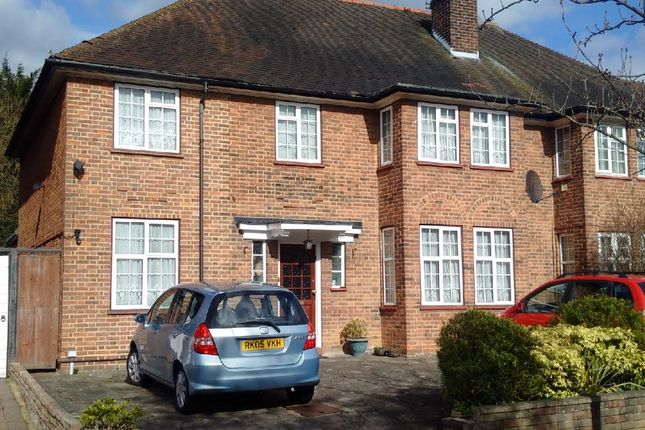 Thumbnail Semi-detached house to rent in Mowbray Road, Edgware, London