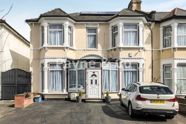 Thumbnail End terrace house for sale in Selborne Road, Ilford
