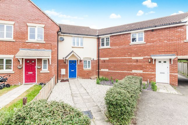 Thumbnail Terraced house for sale in Worsdell Close, Ipswich
