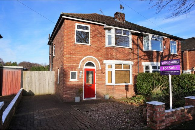Thumbnail Semi-detached house for sale in St. David Road, Wirral