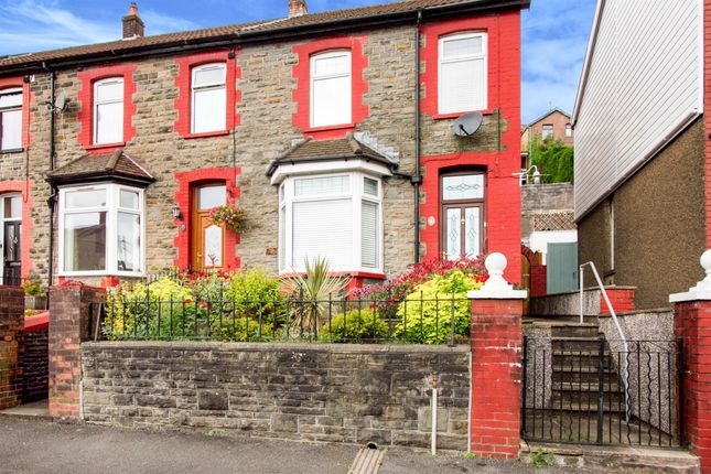 Thumbnail End terrace house for sale in Aldergrove Road, Porth