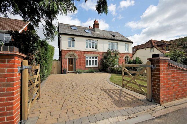 Thumbnail Semi-detached house for sale in Swanwick Lane, Lower Swanwick, Southampton