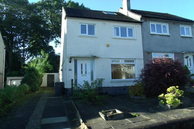 Thumbnail Semi-detached house to rent in Glendaruel Avenue, Bearsden, Glasgow
