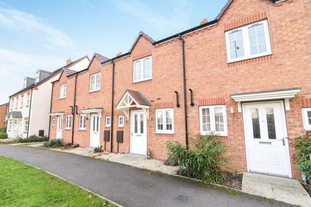 2 bed terraced house to rent in Viburnum Walk, Evesham WR11