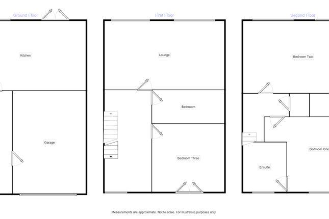 Floorplan of Key Gardens, Wolverhampton WV10