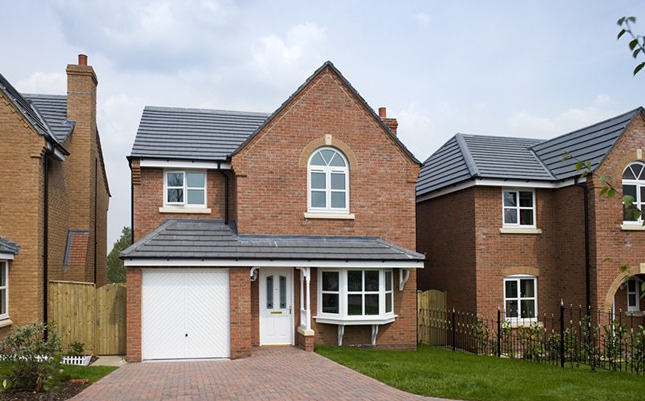 Thumbnail Detached house for sale in The Dunham 2, Two Gates, Tamworth