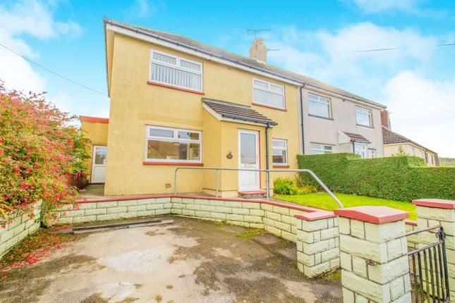 Thumbnail Semi-detached house for sale in Pant Y Fid Road, Aberbargoed, Bargoed
