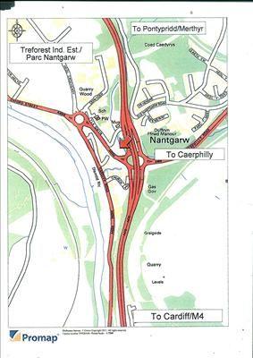 Thumbnail Office for sale in Nantgarw Development Site, Tyla Gwyn, Treforest