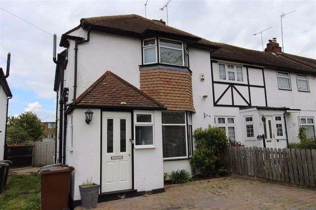 Thumbnail End terrace house for sale in Hawkdene, North Chingford, London