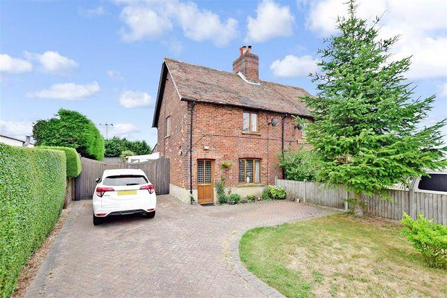 Thumbnail 2 bedroom semi-detached house for sale in Ratling Road, Adisham, Canterbury, Kent
