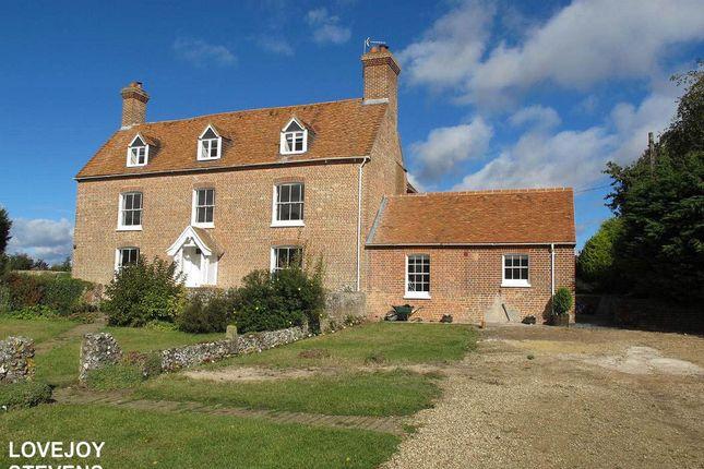 Thumbnail Farmhouse to rent in Newbury Road, Kintbury