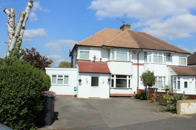 Thumbnail Semi-detached house for sale in Courtlands Avenue, Langley, Slough