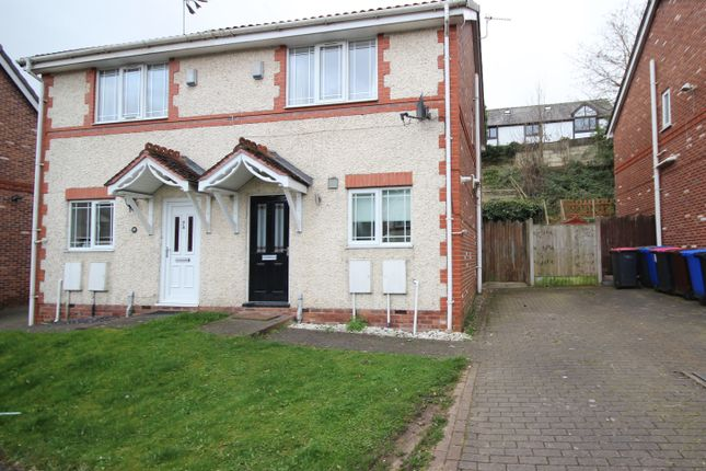 Thumbnail Semi-detached house to rent in Border Brook Lane, Boothstown, Manchester