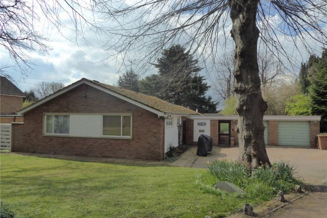 Thumbnail Detached bungalow for sale in The Avenue, Wellinborough, Northamptonshire