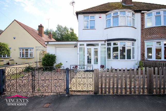 Thumbnail Semi-detached house for sale in Amy Street, Leicester