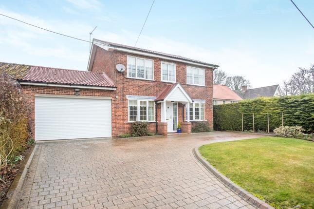 Thumbnail Link-detached house for sale in Weasenham, King's Lynn