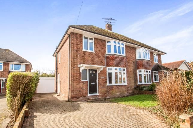 Thumbnail Semi-detached house for sale in Lesley Avenue, Canterbury, Kent, England