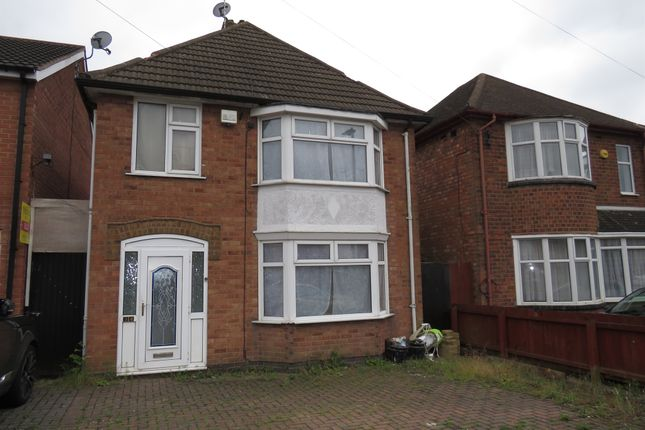 Thumbnail Detached house for sale in Beech Drive, Braunstone, Leicester