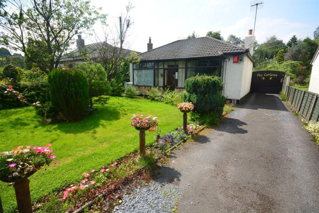 Thumbnail Detached bungalow for sale in The Curlews, Post Lane, Endon, Staffordshire Moorlands