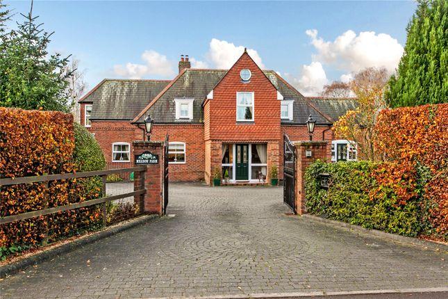 Thumbnail Detached house for sale in Martins Lane, Chilbolton, Stockbridge, Hampshire