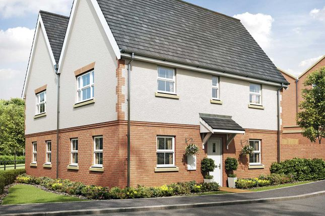"""Thumbnail End terrace house for sale in """"The York"""" at Eagle Avenue, Cowplain, Waterlooville"""