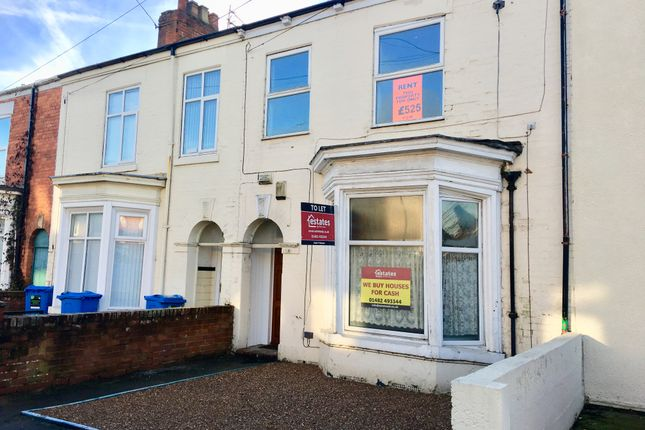 Thumbnail Terraced house to rent in Alexandra Road, Hull