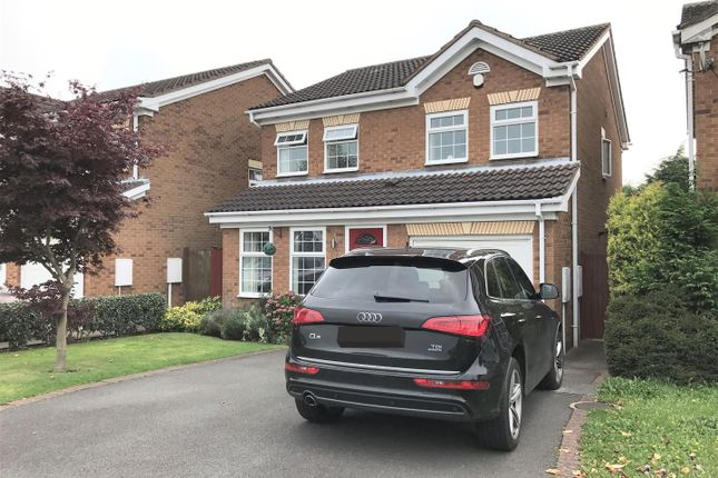 Thumbnail Detached house for sale in Claymar Drive, Newhall, Swadlincote