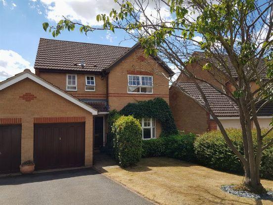 Thumbnail Detached house for sale in Campanula Close, Abington Vale, Northampton